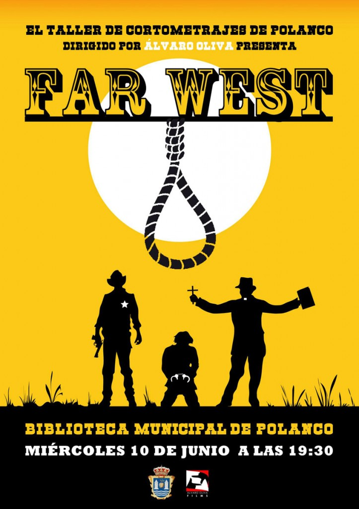 Cartel presentacion de Far West
